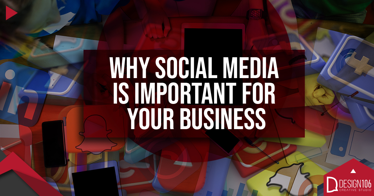 Social media - Why is Important for your Business? - Design 106